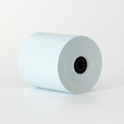 3 1/8″ x 230′ Blue Thermal Paper (50 rolls/case) –  BPA Free