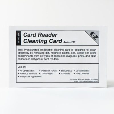 Card Reader Cleaning Swipe Cards (50 cards per box)