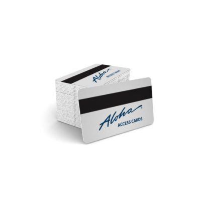 Aloha Employee ID Magnetic Stripe Cards (25 cards per box)