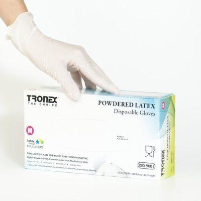 Premium Latex Gloves Powder Free
