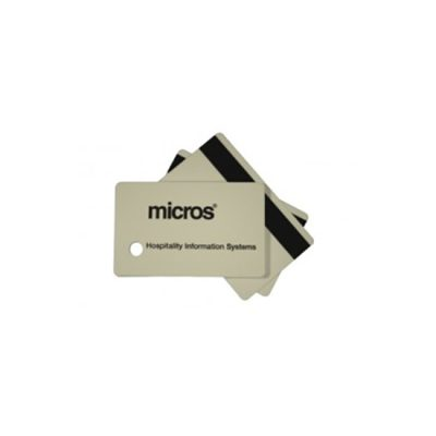 Micros Employee ID Magnetic Stripe Cards (25 cards per box)