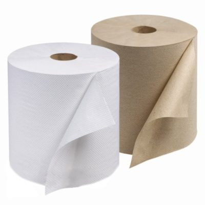 Hardwound Roll Towel – 350′ Brown   Ppr 7.875X350′ 1-Ply Kraft
