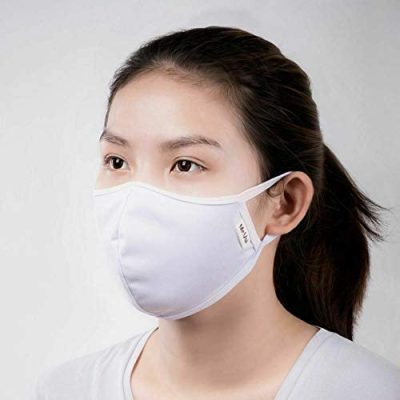 Antibacterial Face Mask – Blue – 3/Pack