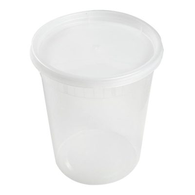 32 oz Clear Deli Container/Lid Combo (240)