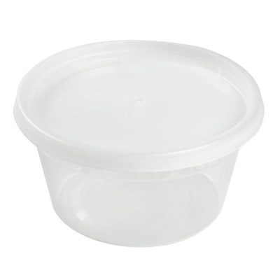 12 oz Clear Deli Container/Lid Combo (240)