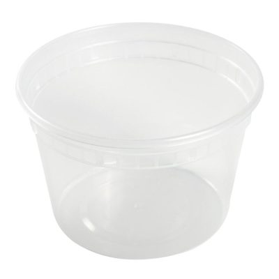 16 oz Clear Deli Container/Lid Combo (240)