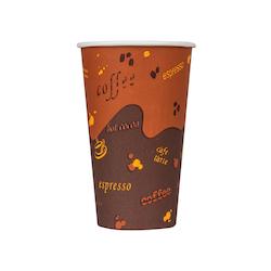 8 Oz. Hot Cup – Brown