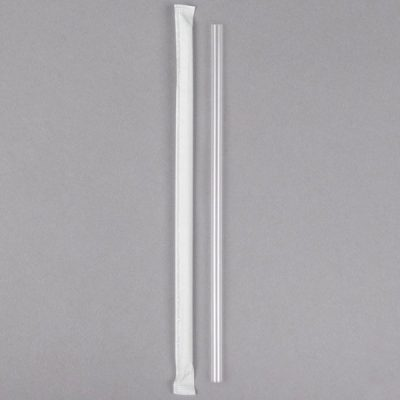 7.75″ – Clear Plastic Straw    200/Case