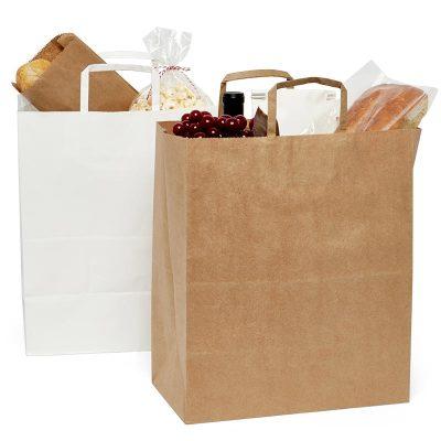 Mart Shopping Bag  13X7X17 Kraft