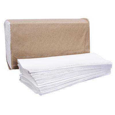 Multi Fold Towel  – White    Ppr 9X9.5″ 250-Shts 1-Ply Wht