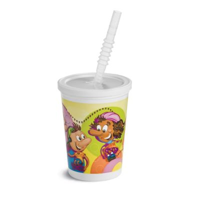 Kids Cups with LIds & Straws